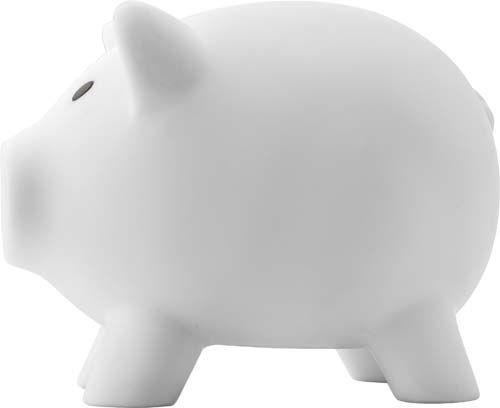 """Sparschwein """"Porky"""" aus Kunststoff"""