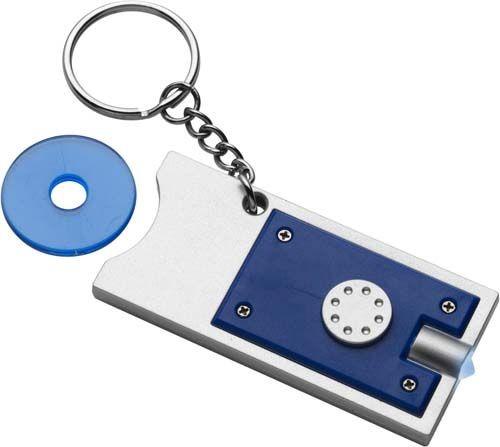 """Schlüsselanhänger """"Spotlight"""" aus Kunststoff"""