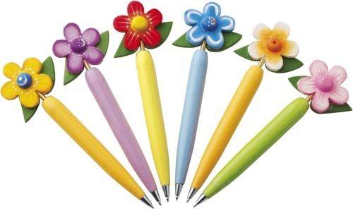 """Kugelschreiber-Set """"Flower"""""""