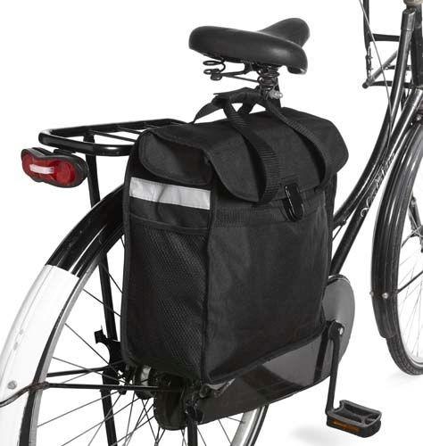 """Gepäckträgertasche """"Race"""" aus 600D Polyester"""