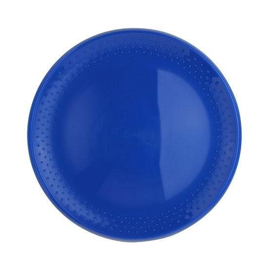 Frisbee Flugscheibe in blau als Werbeartikel bedruckt