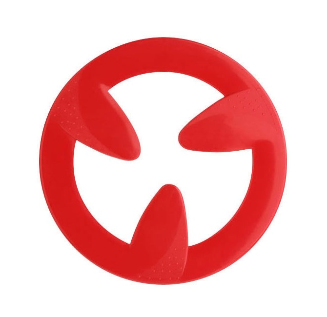 Magicflyer Frisbee sky in rot als Werbeartikel