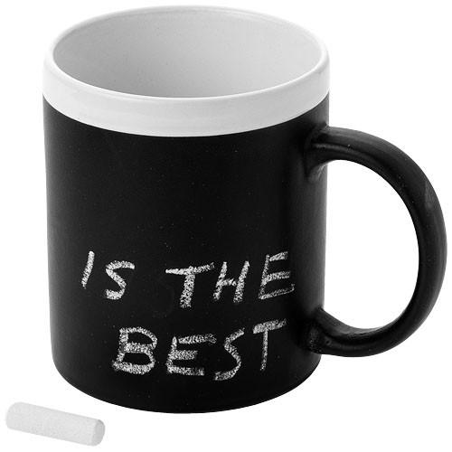 Kaffeebecher mit Kreidetafel