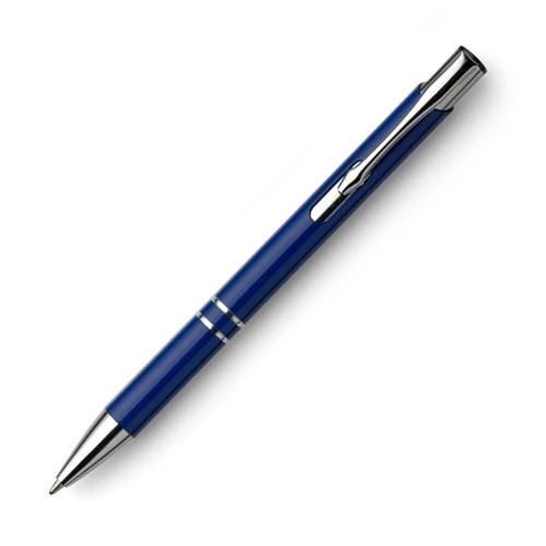 Metallkugelschreiber Promum Style mit Logo gravieren in blau