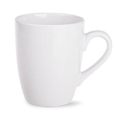 """Kaffeebecher """"Duty"""" weiß aus Keramik als Werbeartikel bedrucken und online bestellen"""