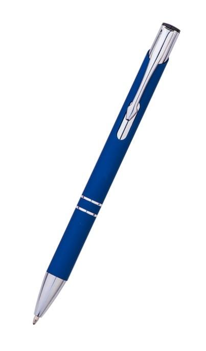 Metall Kugelschreiber Vella mit Softtouch Oberfläche als Werbeartikel