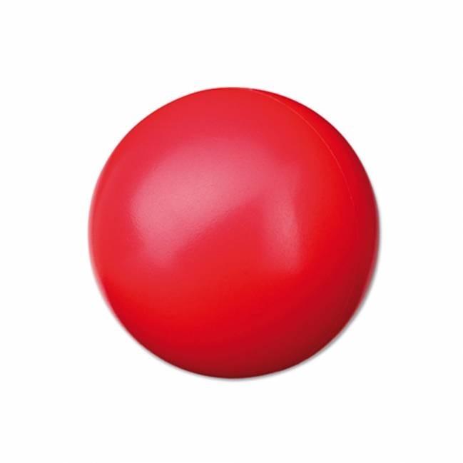 antistressball rund rot mehrfarbig bedruckbar