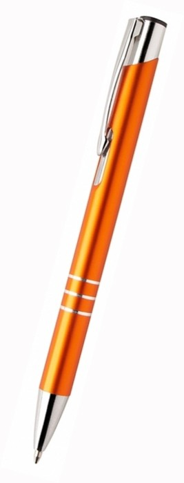 Metallkugelschreiber Nubis als Werbeartikel in orange