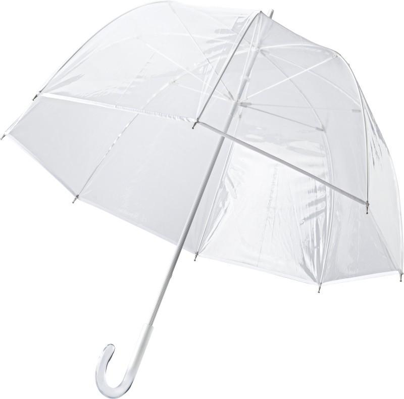 transparenter Regenschirm Style für Models und Stars