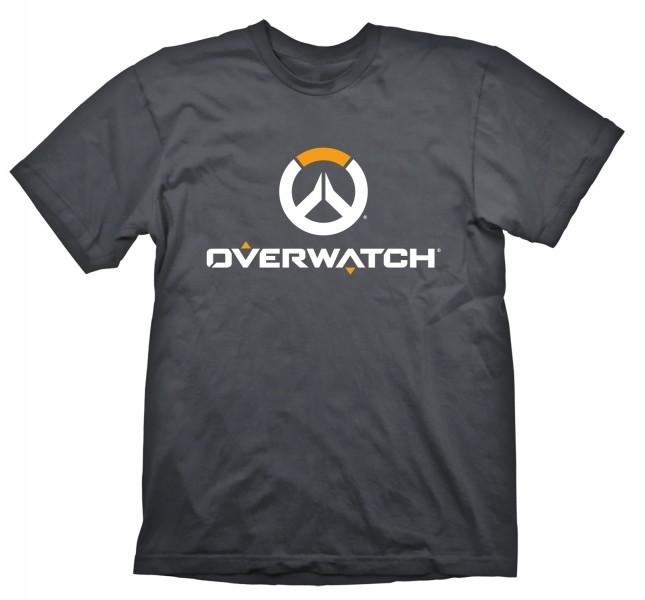Overwatch t-shirt dark mit Logo