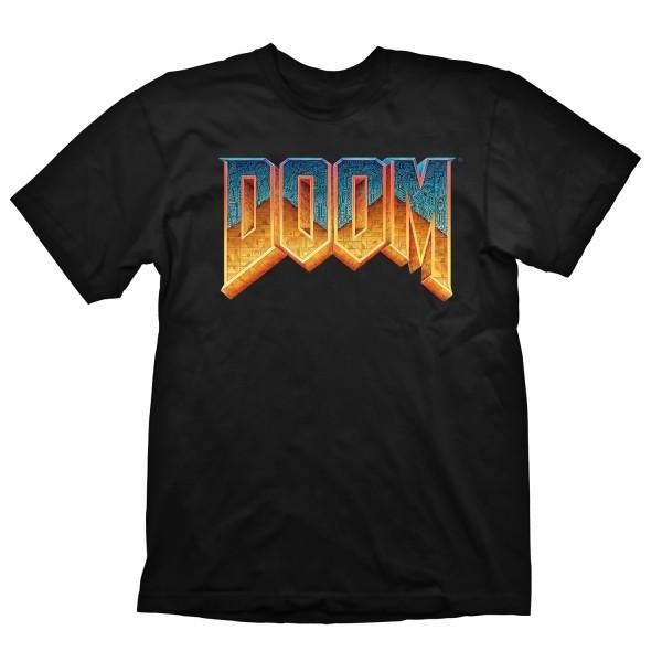 Doom T-Shirt als merch mit Classic Logo bestellen