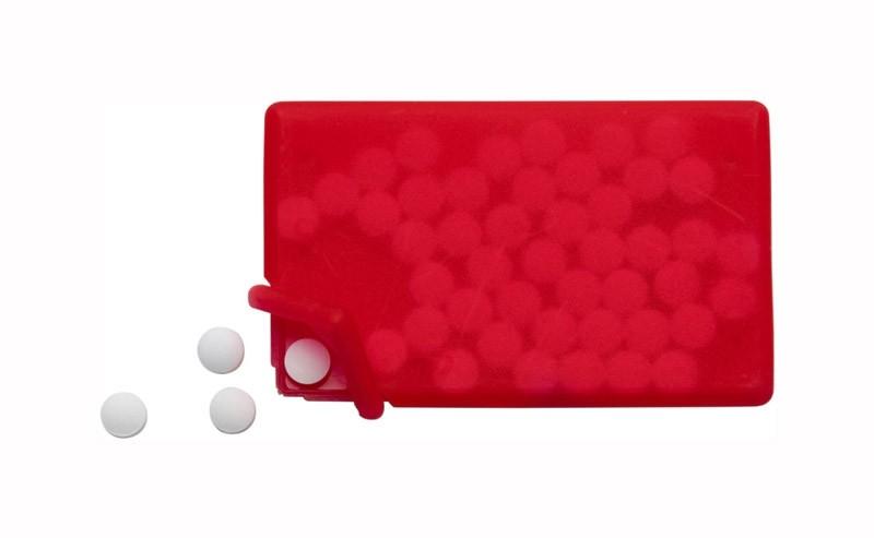 InCard mit Pfefferminzbonbons als Werbeartikel bedrucken