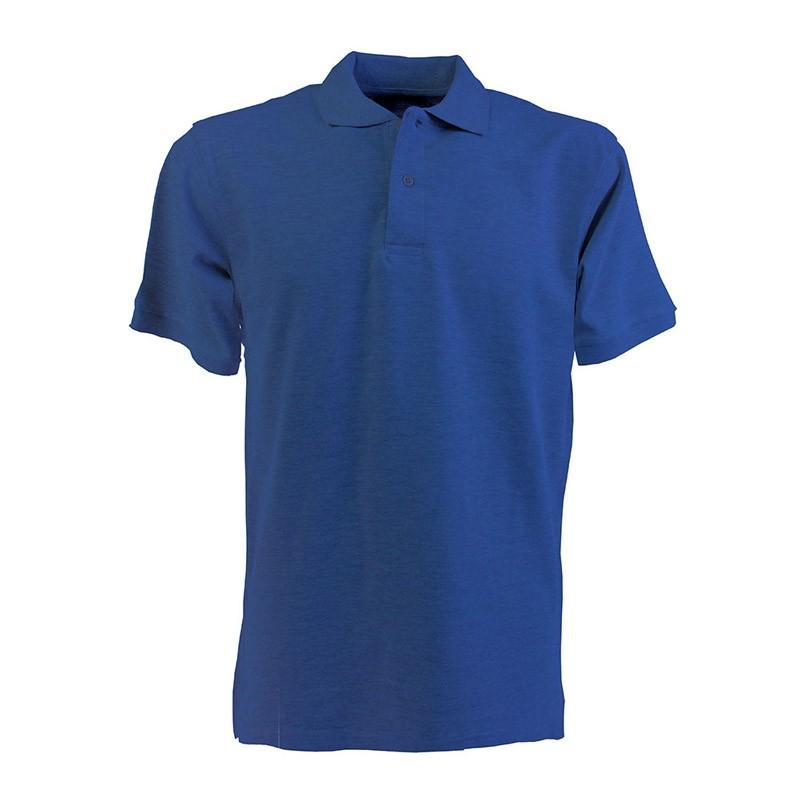 Klassisches Poloshirt in vielen Farben mit aufgedrucktem Logo als Werbeartikel online bestellen