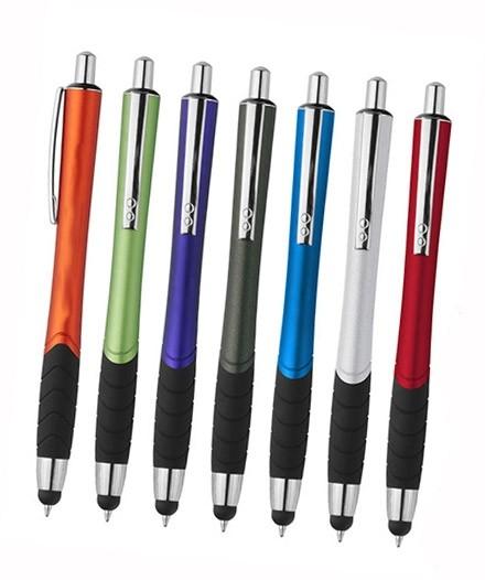 Design Kugelschreiber Art mit Touchfunktion als Werbeartikel bestellen