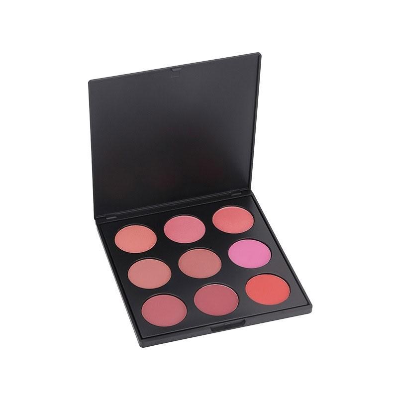 MAKEUP blush Palette dayperfect, 9 hochwertige blushfarben in einem Medley