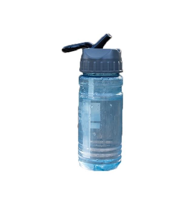 Trinkflasche RPET Partnerprojekt mit der Plastikbank