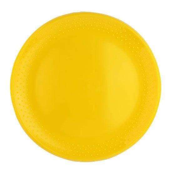 Frisbee Magicflyer Beach gelb einfarbig bedruckt