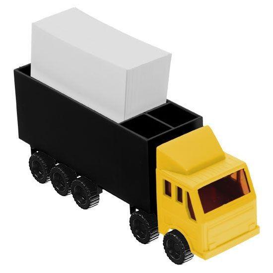 Zettelbox in LKW-Form