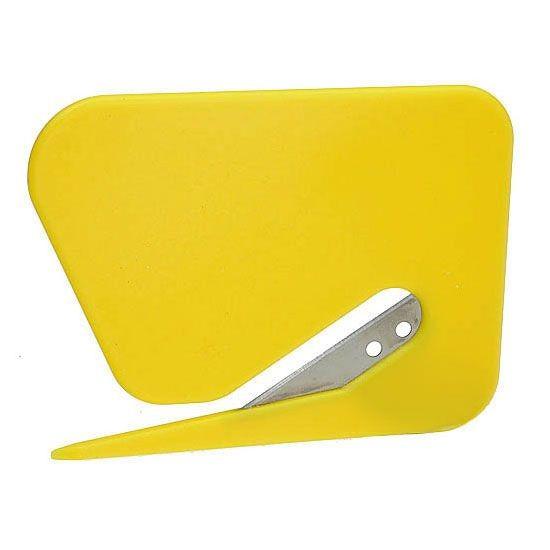 Briefcutter in gelb als Werbeartikel