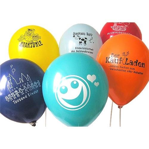 Luftballons umweltfreundlich aus Naturkautschuklatex biologisch abbaubar ohne Mikroplastik