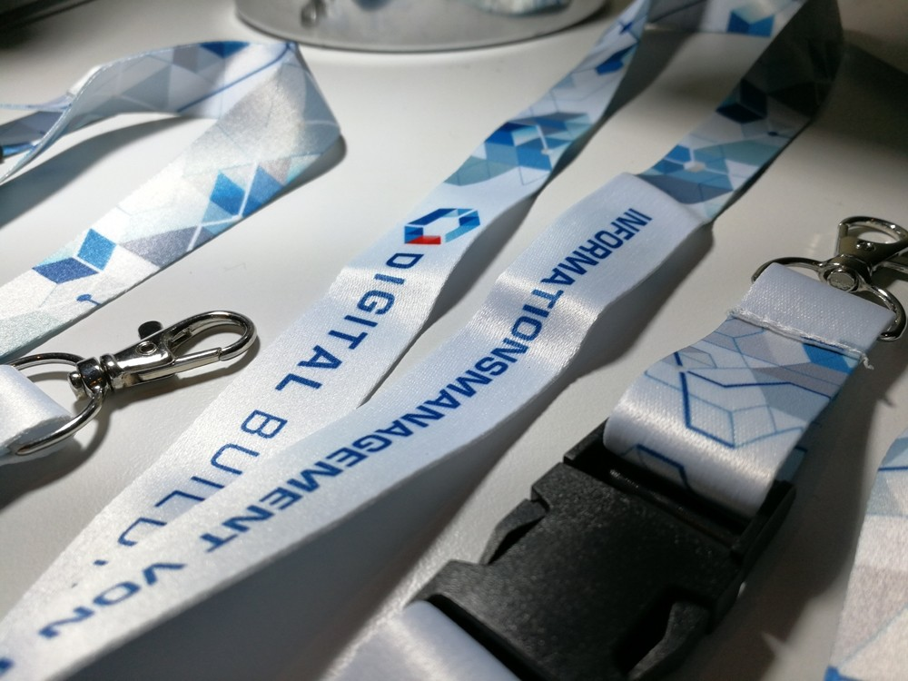 Premiumtex Lanyards Digitaldruck als Werbeartikel bestellen