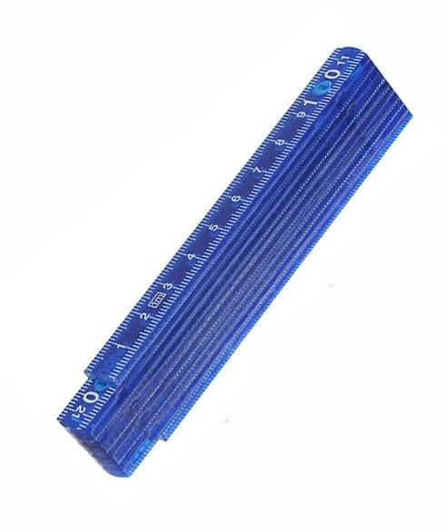 GP 2F Zollstock aus ABS-Kunststoff farbig - 1 Meter ohne Messgenauigkeitsklasse