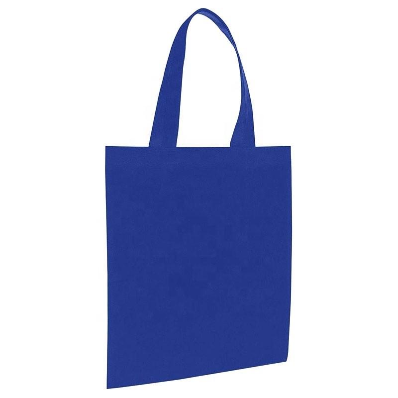 Premiumtex Einkaufstasche kurze Henkel non woven in sehr guter Qualität in blau