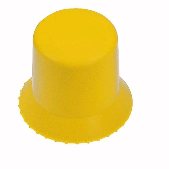 runder Eiskratzer in gelb als Werbeartikel