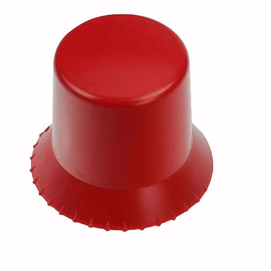runder Eiskratzer in rot als Werbeartikel bedruckt