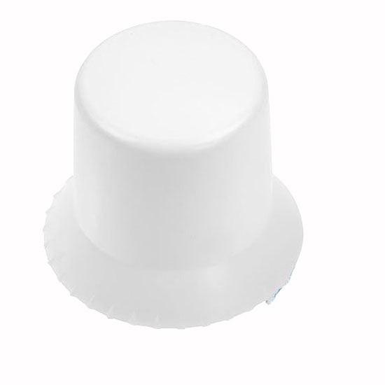 runder Eiskratzer in weiss als Werbeartikel bestellen