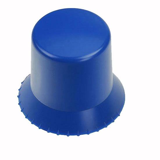 runder Eiskratzer in blau als Werbeartikel