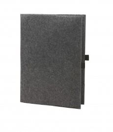 Schreibmappe Economy für DIN-A4 Papiere aus Filz als Werbeartikel