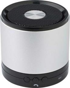 Bluetooth Lautsprecher aus Aluminium als Werbeartikel oder Merchandising Produkt in unserem Werbeartikel Katalog bestellen