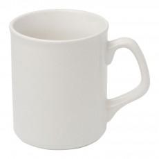 Kaffeebecher Dolce aus Porzellan mit Aufdruck als Werbeartikel