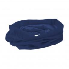 Premiumtex Multifunktionsschal Gesichtsmaske Communitymaske in blau mit Aufdruck