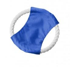 Petdress Hundefrisbee in blau mit Logodruck als Merchandise und Werbeartikel