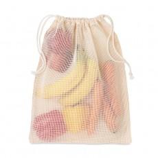 Premiumtex veganer Einkaufsbeutel Baumwolle für Obst und Gemüse