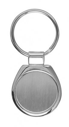 Premium Schlüsselanhänger rund mit Logogravur