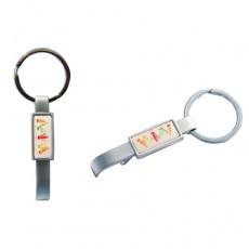 Rectobottle Schlüsselanhänger Chrome matt