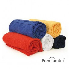 Handtuch Duschtuch Badetuch 70 x 140 cm mit eingesticktem Logo