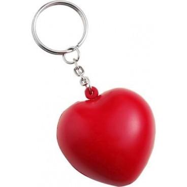 Anti-Stress Herz als Schlüsselanhänger