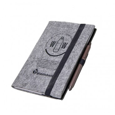 RPET Filz Notizbuch DIN A5