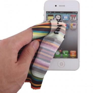 Mikrofasertuch als Brillenputztuch oder zur Reinigung von Handys und Displays