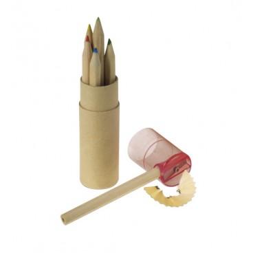 Gemaco Buntstifte-Set im umweltfreundlichen Pappköcher