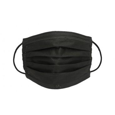 Gemaco Mundnasenmaske OP-Maske schwarz