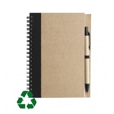Notizbuch aus recycletem Papier