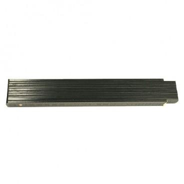 Zollstock Holz schwarz