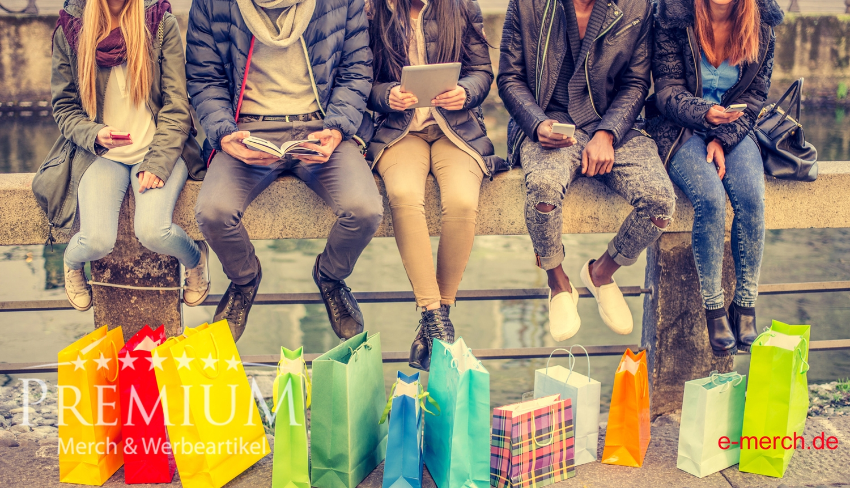 Premium Werbeartikel und Merch wirken